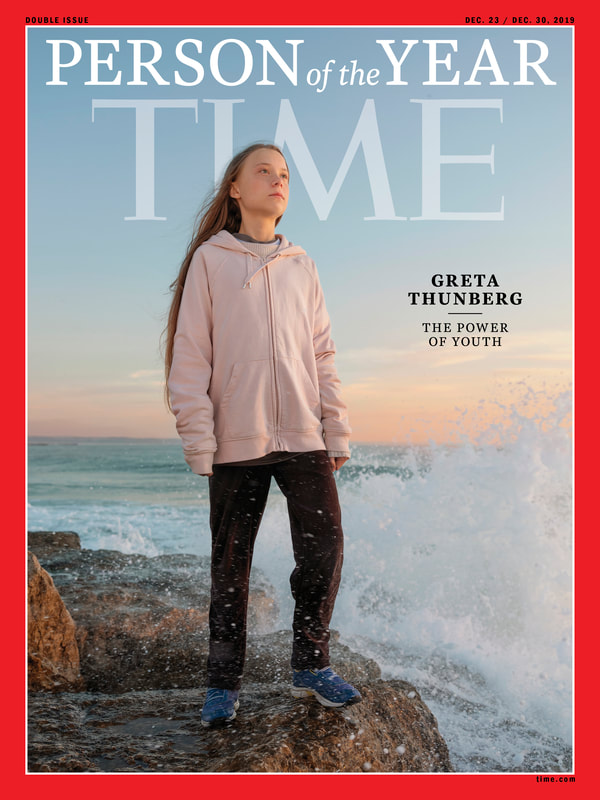 Greta Thunberg Person of the Year Time magazine cover