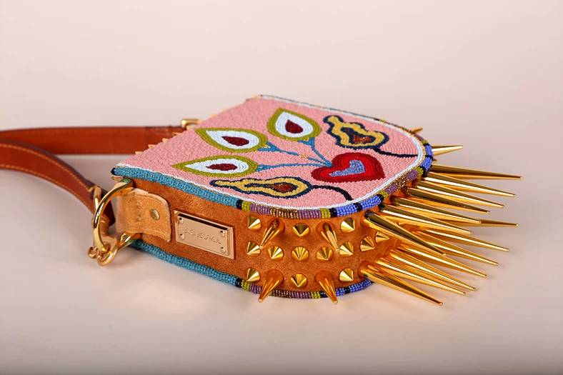 Picture,Jamie Okuma,spiked,beaded,bag